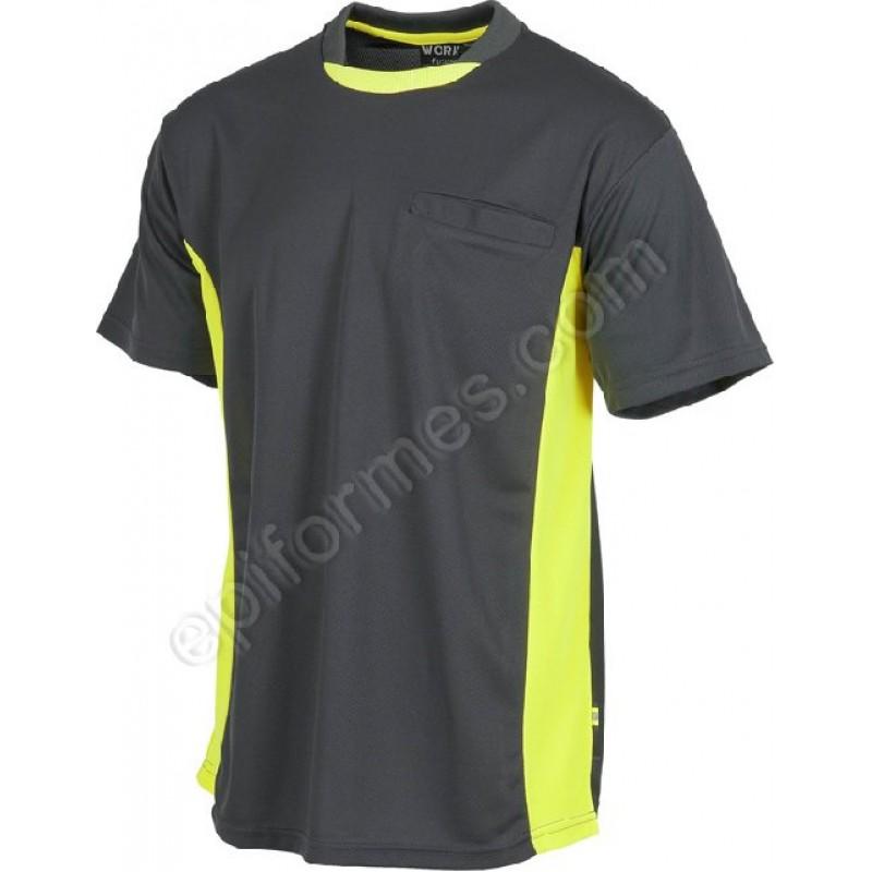 Camiseta De Trabajo Linea 6