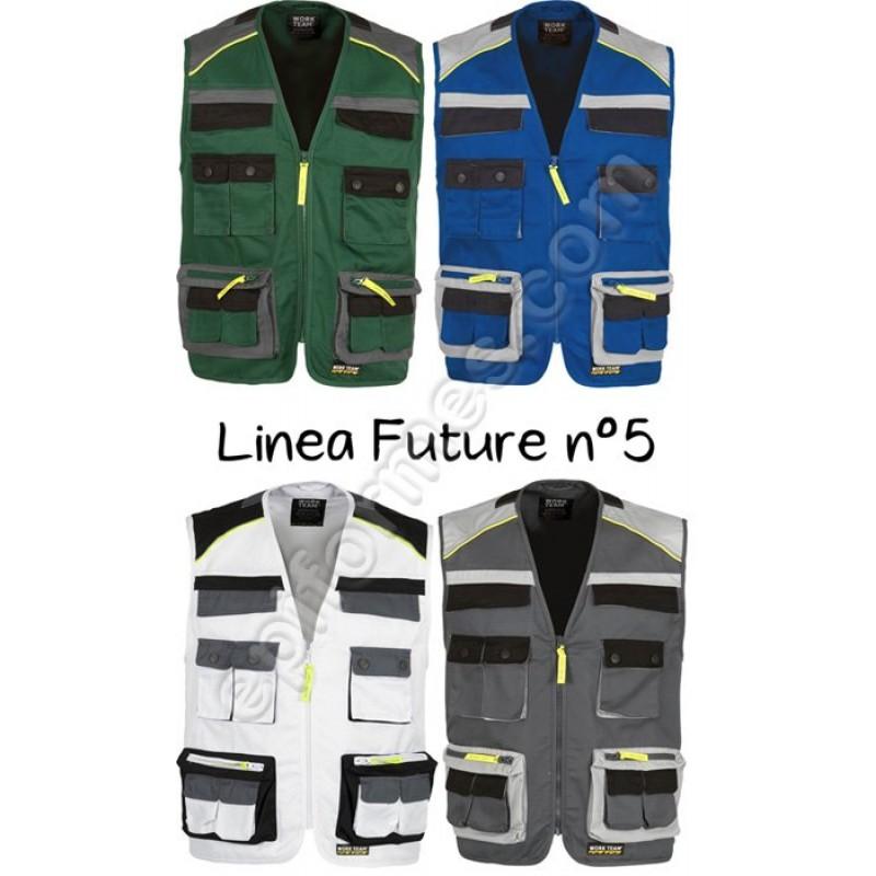 Chaleco De Trabajo Linea Future Nº 5