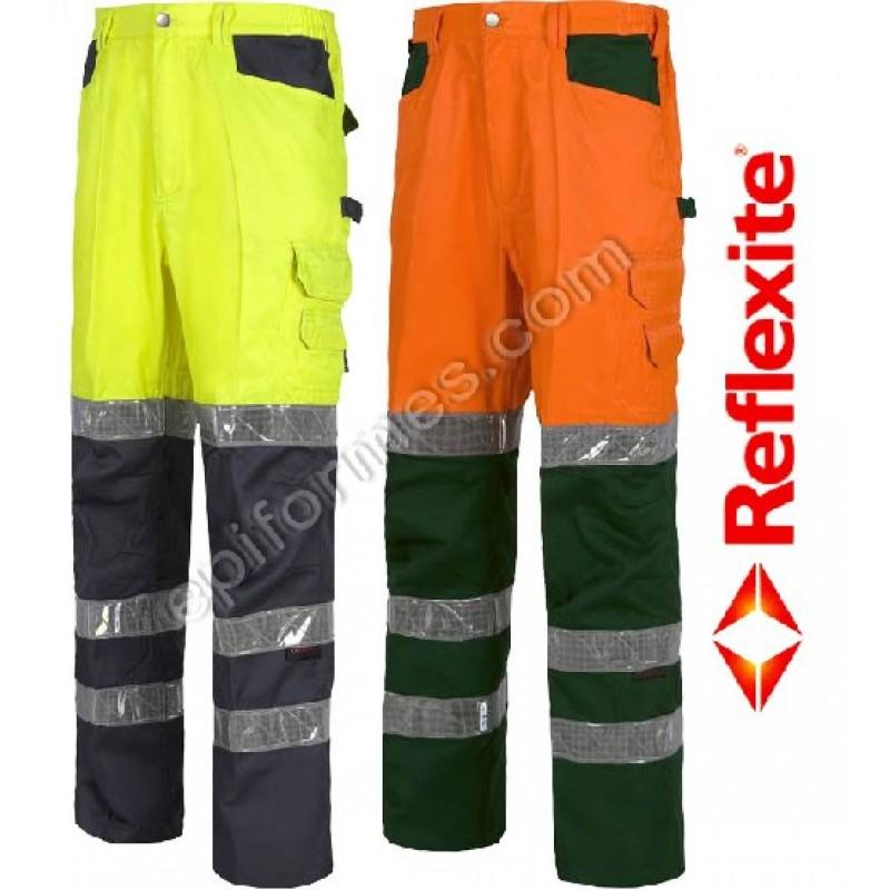 Pantalon De Trabajo Con Reflexite